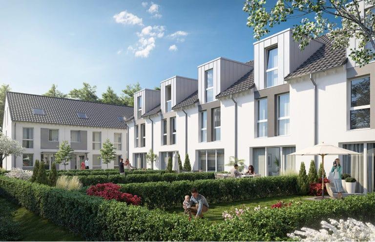 Projekt Wohnquartier Siechhof Südseite