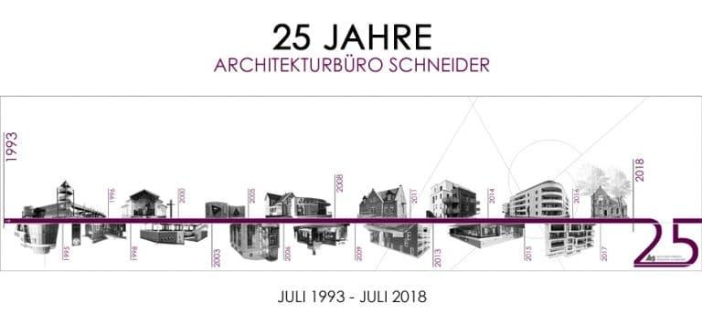 25 Jahre Architekturbüro Reinhard Schneider