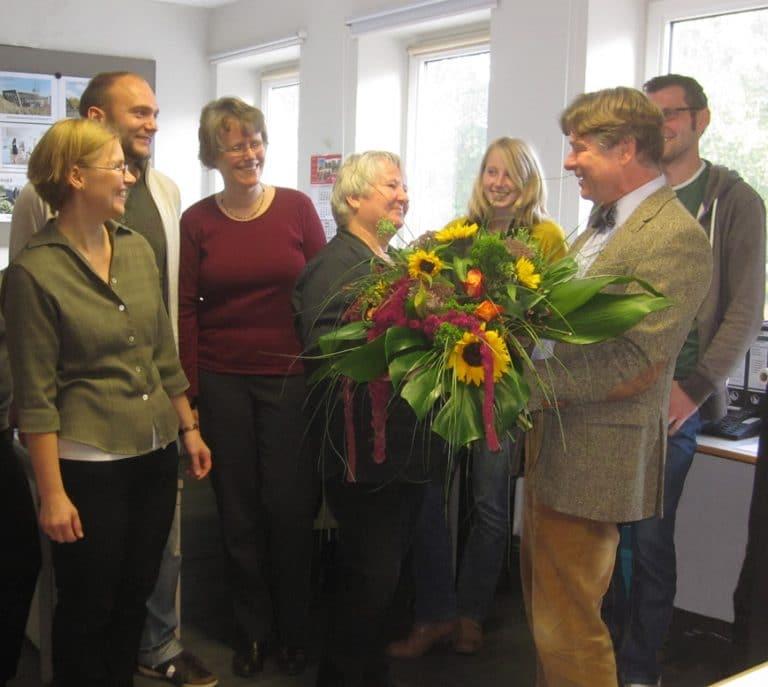 AS Norden Jubliäum Frau Engelbarts