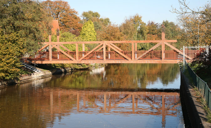 Autobrücke Norder Tief