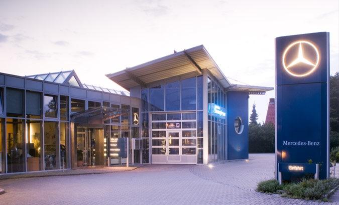 Erweiterung Autohaus