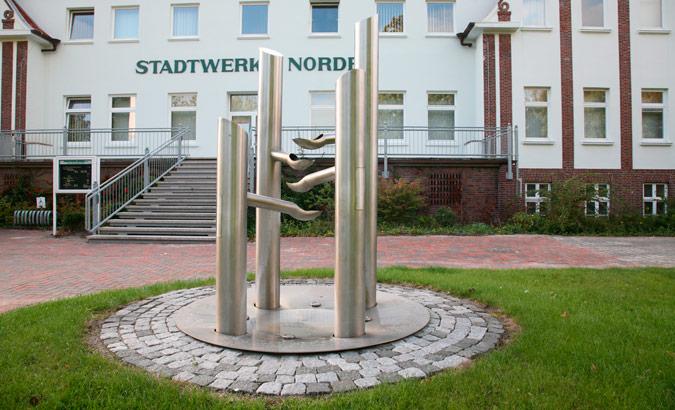 Brunnen Stadtwerke Norden