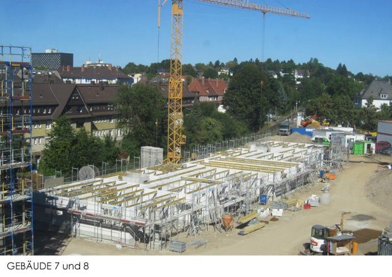 AS Norden Projekte Dritter Bauabschnitt des Q16 Stadtquartier Gießen Gebäude 7 und 8
