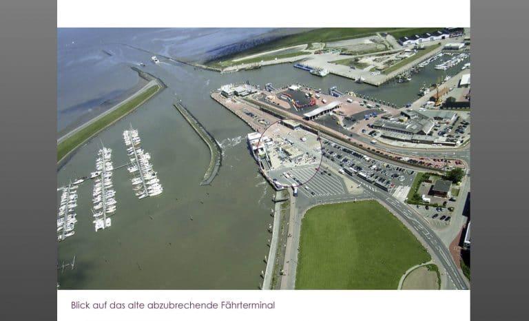 AS Norden Projekte Entwurf Fährterminal Norddeich