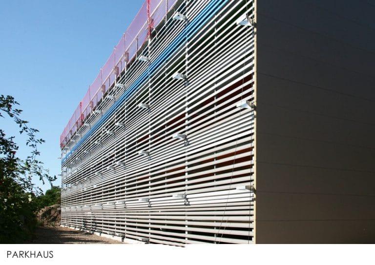 AS Norden Projekte Erster Bauabschnitt Q16 Stadtquartier Gießen Parkhaus