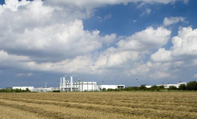 Gasübergabestation Statoil