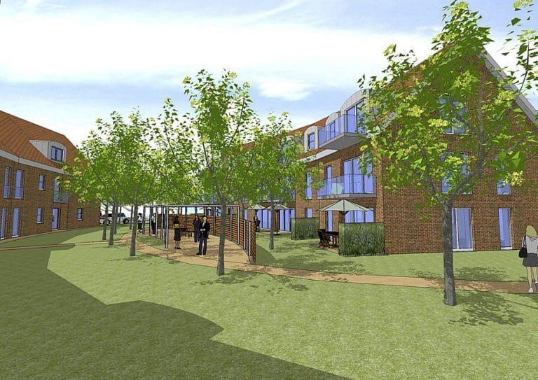 AS Norden Projekte Neubau Ferienwohnungen Norden-Norddeich Visualisierung