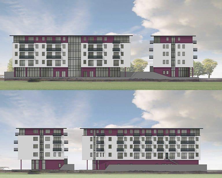 AS Norden Projekte Neubau Wohn- und Geschäftshaus Wiesecker Weg Gießen Ansichten
