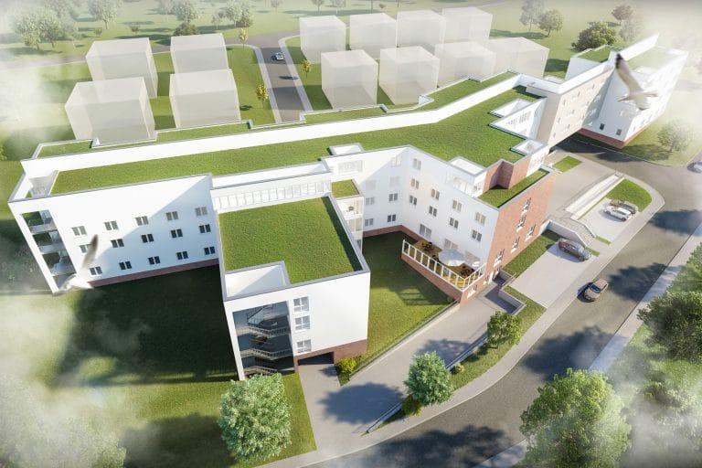 AS Norden Projekte Neubau eines Pflegezentrums Rüdesheim Visu 3