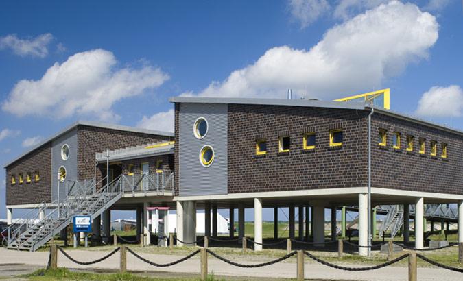 AS Norden Projekte Sanitärgebäude Strandversorgung Dornumersiel