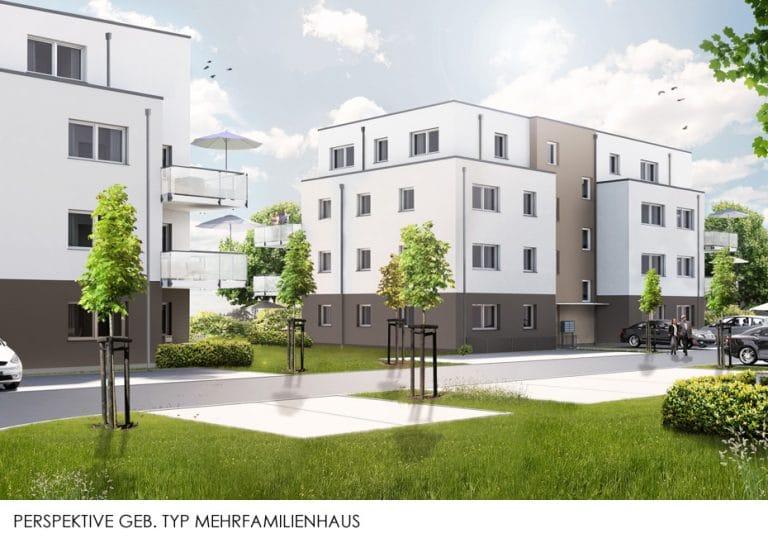 AS Norden Projekte Steinbacher Gärten schwellenfreie Wohnbebauung Mehrfamilienhaus