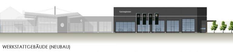 AS Norden Projekte Umbau und Erweiterung Autohaus Norden