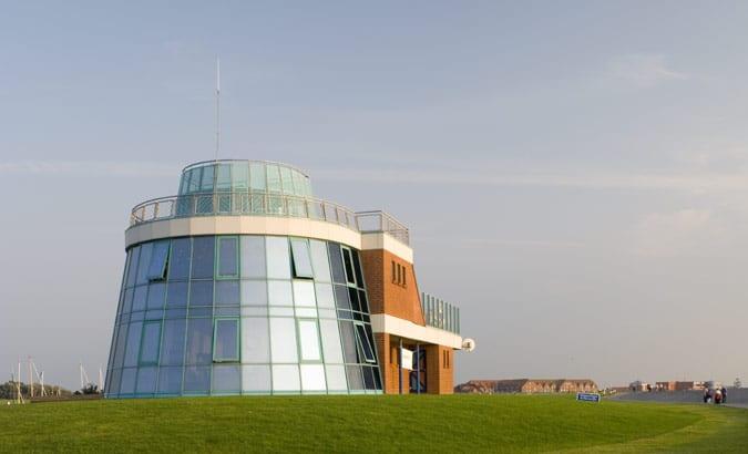 Yachthafengebäude Norddeich